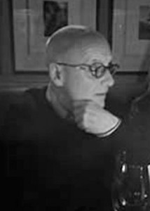 black and white photo of professor kenneth little